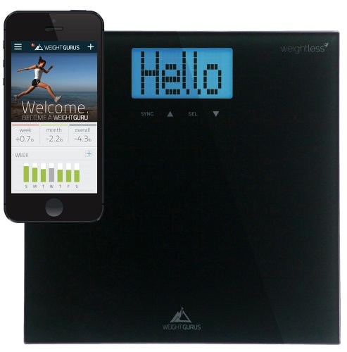 Weight-Gurus-Digital-Bathroom-Scale-with-Large-Backlit-LCD-and-Smartphone-Tracking-0-0