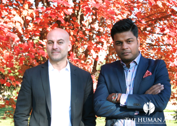 Michael DePalma and Richie Etwaru, founders of TheHumanAPI. Photo provided.