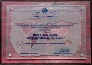 MED TOUR PRESS INTERNATIONAL - DYPLOMY I REFERENCJE