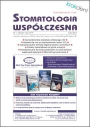 Stomatologia Współczesna nr 1/2011