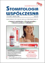 Stomatologia Współczesna nr 4/2008