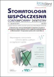 Stomatologia Współczesna nr 1/2015