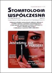 Stomatologia Współczesna nr 3/2011