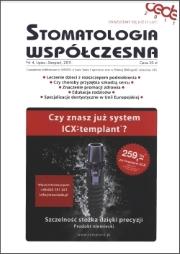 Stomatologia Współczesna nr 4/2011