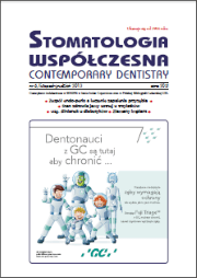 Stomatologia Współczesna nr 6/2013
