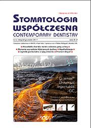 Stomatologia Współczesna nr 6/2017