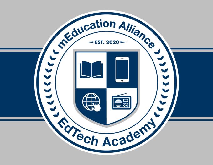 Edtech Academy Meducation Alliance