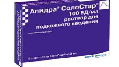 Photo of Інсулін Апидра Солостар: інструкція по застосуванню розчину
