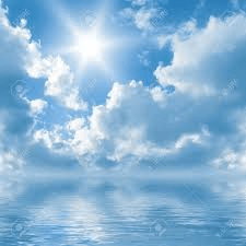 cloud background for meditation