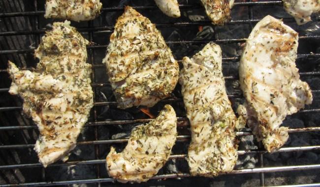 Grilēta vistas fileja