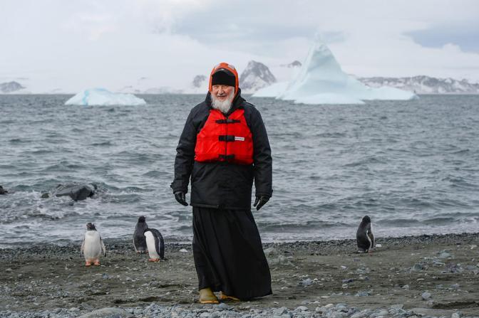 Патриарх Кирилл в Антарктиде, 18 февраля Фото: Пресс-служба патриарха Московского и всея Руси / ТАСС / Scanpix / LETA