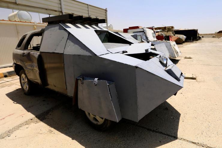 FPzmNVT7PQGcNN5N3QSXxw Джихад-мобили во всей красе. Машины смерти представлены в Ираке