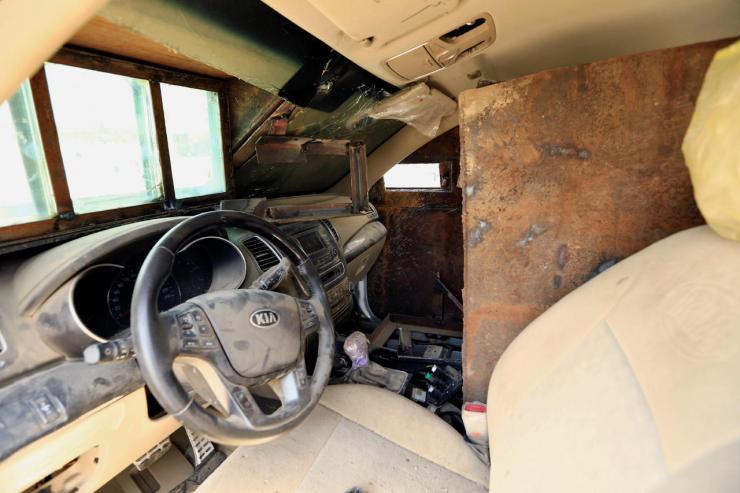nnAWyBk17peho3gVqyPeQg Джихад-мобили во всей красе. Машины смерти представлены в Ираке