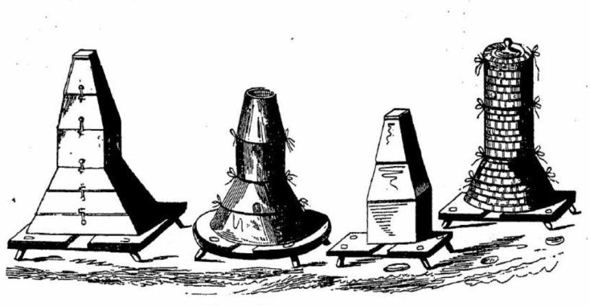 различные исполнения ульев Витвитцкого