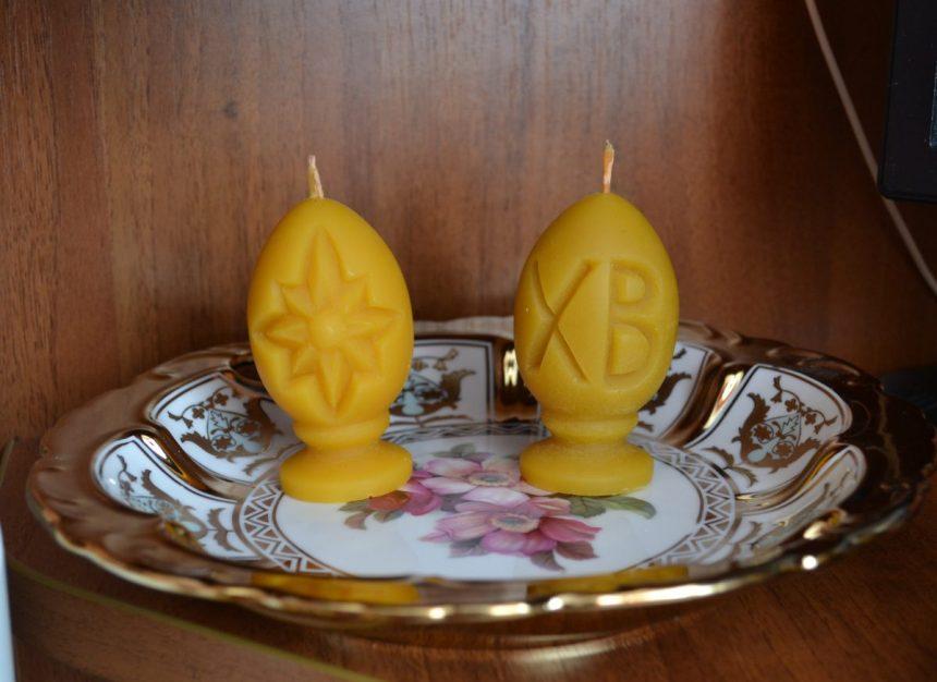 свечи к пасхе
