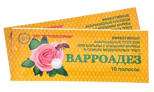 Препарат варроадез для борьбы с клещем варроа