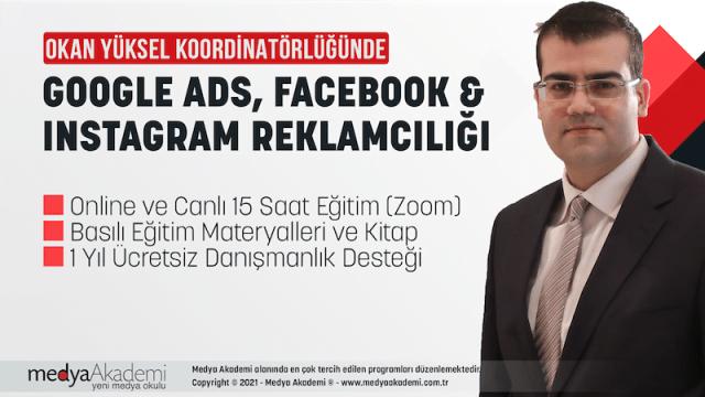 Google Ads, Facebook ve Instagram Reklamcılığı