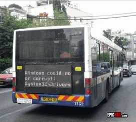 Windows Reklamda Başarısızlık