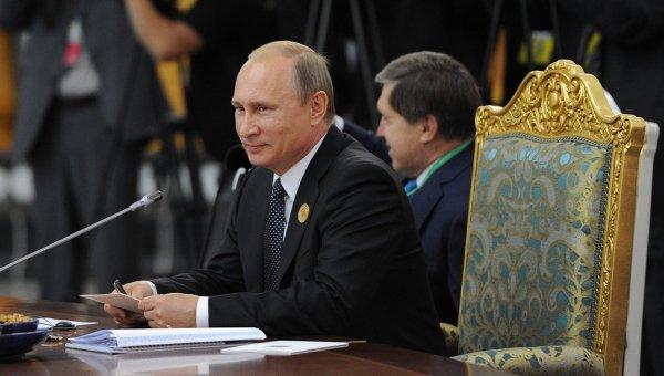 Prezident RF Vladimír Putin