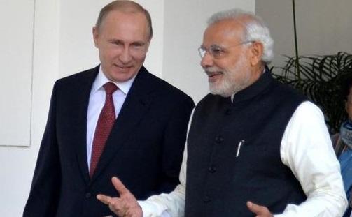 Narendra Modi, Vladimír Putin