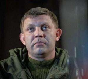Alexander Zacharčenko foto: DNR-News