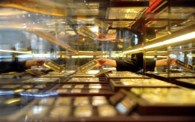 Centrum obchodovania so zlatom v provincii Shenyang, Liao-ning. (Foto / Xinhua)