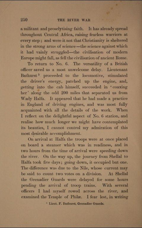 Riečna vojna II.diel, prvé vydanie, strana 250,
