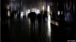 Krym ponorený do tmy počas výpadku elektriny