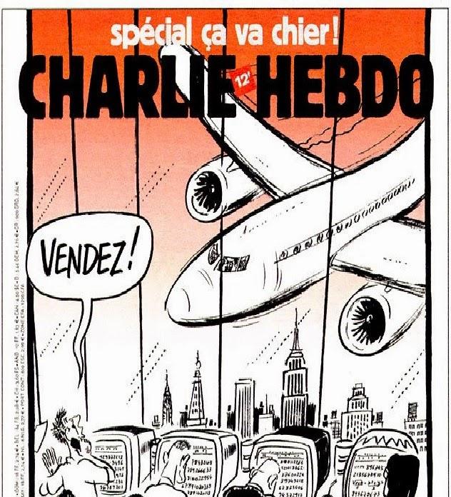 Charlie Hebdo ku teroristickému útoku 9/11