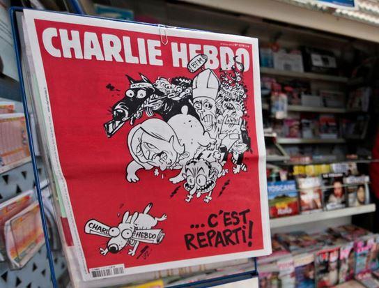 Charlie Hebdo k nedávnemu teroristickému útoku na ruské lietadlo v Egypte