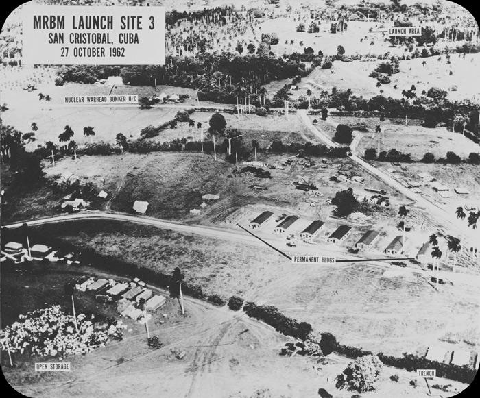 Letecký záber na raketovú základňu na Kube, 27. október 1962