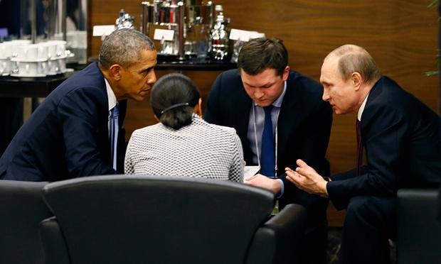 Putin Obama - Antalya
