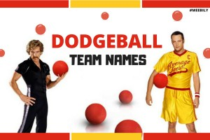 Dodgeball Team Names
