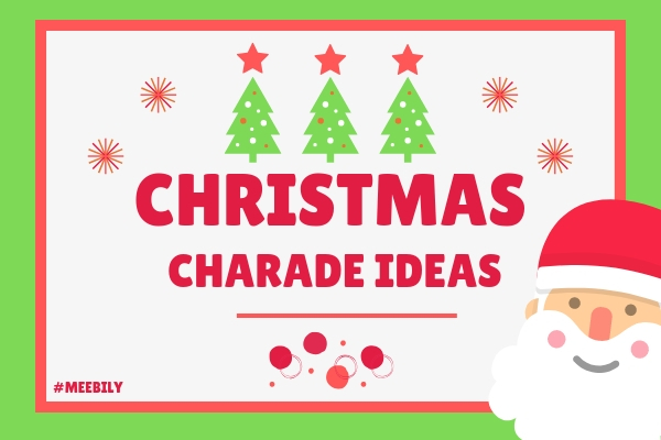 Christmas Charades Word Ideas