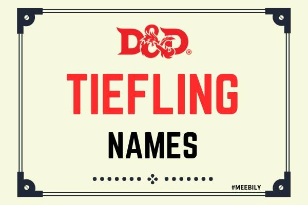 D&D Tiefling Names & Usernames