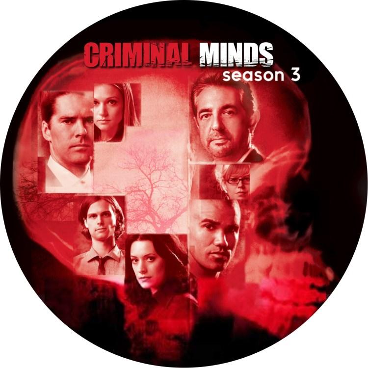 クリミナルマインド3 DVDラベル CRIMINAL_MINDS_3
