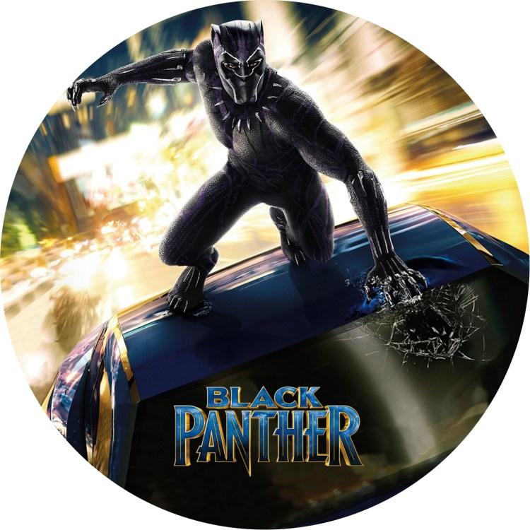 DVDラベル ブラックパンサー