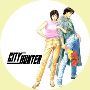TVアニメ「シティーハンター」の汎用DVDラベルです