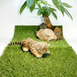 トラの赤ちゃん。羊毛フェルトの作品です。