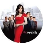 全米大ヒットドラマ「グッドワイフseason 5」のDVDラベルです