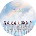 「NIZIU」 Step and a step のDVDラベルです