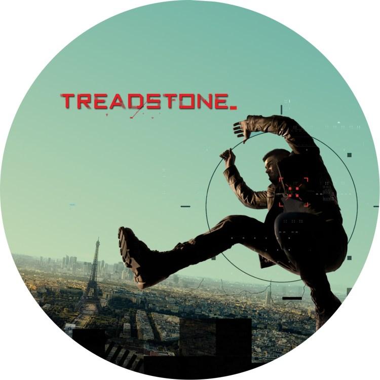 トレッドストーン TREADSTONE のDVDラベル