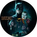 BATMAN バットマン(1989) のDVDラベル