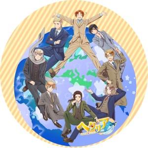 ヘタリア world★stars DVDラベル