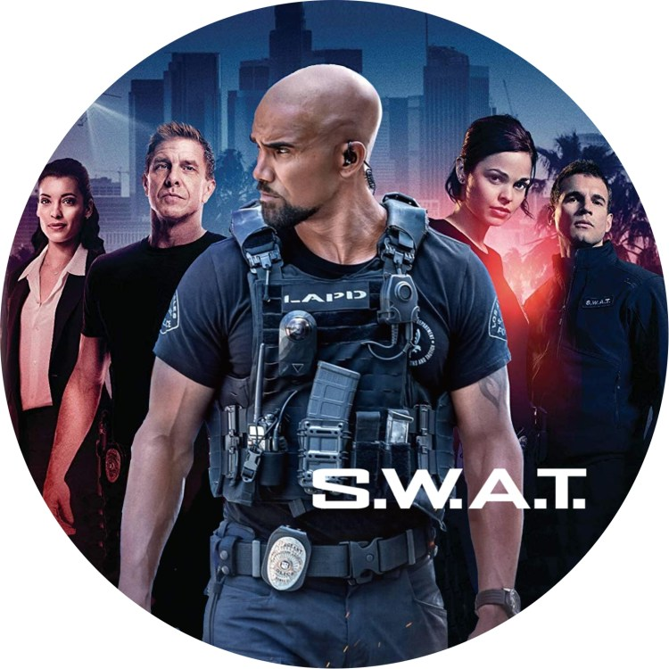 S.W.A.T. シーズン1 DVDラベル