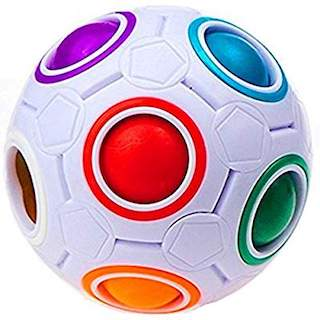 magic rainbow puzzle ball