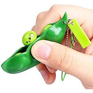 soybean fidget keychain