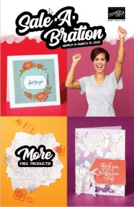 Stampin' UP!s 2nd Sale A Bration Release flyer