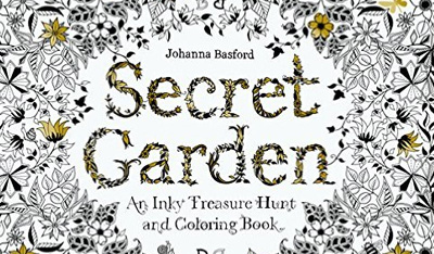 Libros para colorear de adultos. Secret  Garden, Johanna Basford