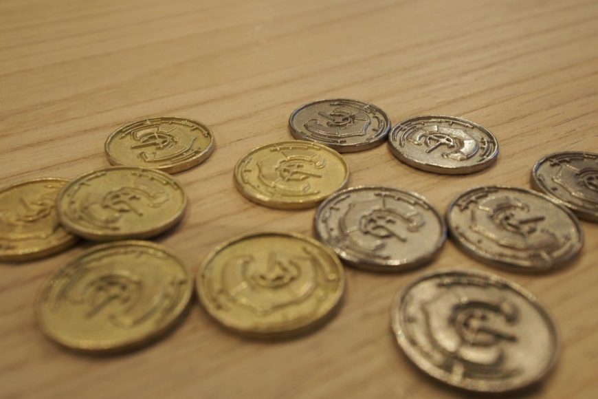 Spice road coins